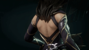 On Mortal Kombat 11 Kitana S Catwoman Skin From Dc Skin Pack Dlc