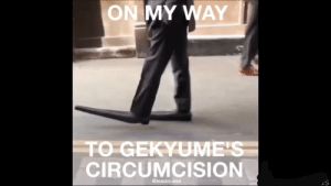Im lovin' it: ON MY WAY  TO GEKYUMEIS  CIRCUMCISION  @succc.exe Im lovin' it