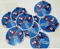 We'll be giving away Little Witch Academia stickers throughout AnimeExpo weekend! 😀  How to get a LWA sticker;  ** Free with every purchase!~  ** Attend the Studio TRIGGER Panel on July 2nd at 4:30PM in LP2 (J.W. Marriott) ** Attend the GSC Industry Panel on July 2nd at 6:30PM in room LP2 (J.W. Marriott): On Netfli  2  Streaming  On Netflix  A Now  aming  / or Netflix  Streaming  On Netflix We'll be giving away Little Witch Academia stickers throughout AnimeExpo weekend! 😀  How to get a LWA sticker;  ** Free with every purchase!~  ** Attend the Studio TRIGGER Panel on July 2nd at 4:30PM in LP2 (J.W. Marriott) ** Attend the GSC Industry Panel on July 2nd at 6:30PM in room LP2 (J.W. Marriott)