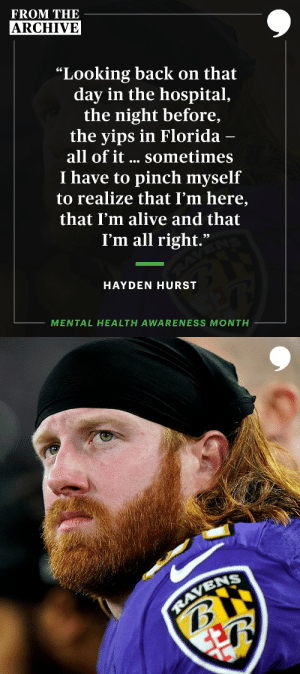 On November 5, 2018, @haydenrhurst shared his powerful story with us. #MentalHealthAwareness #TPTArchive  📝: https://t.co/02CSf44XIi https://t.co/JqTdnUs5sG: On November 5, 2018, @haydenrhurst shared his powerful story with us. #MentalHealthAwareness #TPTArchive  📝: https://t.co/02CSf44XIi https://t.co/JqTdnUs5sG