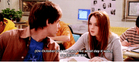 buckyssteves:Happy Mean Girls Day! (Wednesday 3rd October 2018): (On October 3  ee askedime what day it was  ts October rd buckyssteves:Happy Mean Girls Day! (Wednesday 3rd October 2018)