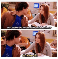 Happy Mean Girls day 💖 october3rd goodgirlwithbadthoughts 💅🏼: On October 3rd, he asked me what day it was  ts october 3rd Happy Mean Girls day 💖 october3rd goodgirlwithbadthoughts 💅🏼