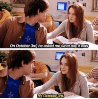Girls, Target, and Las Vegas: On October 3rd, he asked me what day it was  It's October 3rd 'Mean Girls' Cast Reunites to Honor Victims of Las Vegas Shooting