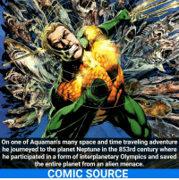 Aquaman is awesome I don't get why people hate him _____________________________________________________ - - - - - - - Aquaman Batman Nightwing Flash Robin Superman MartianManhunter Joker GreenLantern WonderWoman Deadshot DeathStroke GreenArrow JusticeLeague BvS SuicideSquad DawnofJustice BenAffleck EzraMiller Cyborg DCComics DC DCRebirth Rebirth ComicFacts Comcis Facts Like4Like Like: On one of Aquamans many space and time traveling adventure  he journeyed to the planet Neptune in the 853rd century where  he participated in a form of interplanetary Olympics and saved  the entire planet from an alien menace.  COMIC SOURCE Aquaman is awesome I don't get why people hate him _____________________________________________________ - - - - - - - Aquaman Batman Nightwing Flash Robin Superman MartianManhunter Joker GreenLantern WonderWoman Deadshot DeathStroke GreenArrow JusticeLeague BvS SuicideSquad DawnofJustice BenAffleck EzraMiller Cyborg DCComics DC DCRebirth Rebirth ComicFacts Comcis Facts Like4Like Like