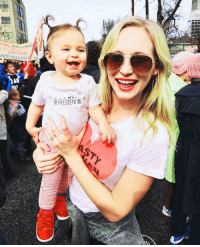 [ WomensMarch Atlanta on January 21] Candice with her daughter Florence May 😍❤: ON  PRESIDENT [ WomensMarch Atlanta on January 21] Candice with her daughter Florence May 😍❤