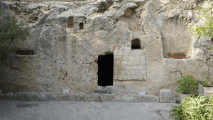"""On Resurrection Sunday - we reach the culmination of Passion Week. The resurrection of Jesus Christ is the most important event, the crux, you might say, of the Christian faith. The very foundation of all Christian doctrine hinges on the truth of this account.  Early Sunday morning several women went to the tomb and discovered that the large stone covering the tomb's entrance had been rolled away. An angel announced, """"Don't be afraid! I know you are looking for Jesus, who was crucified. He isn't here! He is risen from the dead, just as he said would happen."""" (Matthew 28:5-6, NLT)  On the day of his resurrection, Jesus Christ made at least five appearances. Mark's Gospel says the first person to see him was Mary Magdalene. Jesus also appeared to Peter, to the two disciples on the road to Emmaus, and later that day to all of the disciples except Thomas, while they were gathered in a house for prayer.  The eyewitness accounts in the Gospels provide undeniable evidence that the resurrection of Jesus Christ happened. 2,000 years after his death, followers of Christ still flock to see the empty tomb, one of the strongest proofs that Jesus Christ actually did rise from the dead.: On Resurrection Sunday - we reach the culmination of Passion Week. The resurrection of Jesus Christ is the most important event, the crux, you might say, of the Christian faith. The very foundation of all Christian doctrine hinges on the truth of this account.  Early Sunday morning several women went to the tomb and discovered that the large stone covering the tomb's entrance had been rolled away. An angel announced, """"Don't be afraid! I know you are looking for Jesus, who was crucified. He isn't here! He is risen from the dead, just as he said would happen."""" (Matthew 28:5-6, NLT)  On the day of his resurrection, Jesus Christ made at least five appearances. Mark's Gospel says the first person to see him was Mary Magdalene. Jesus also appeared to Peter, to the two disciples on the road to Emmaus, an"""
