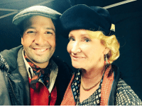 On set with the original Jane Banks, Karen Dotrice, watch for her surprise cameo... #MaryPoppinsDay https://t.co/1CP5GuiYhw: On set with the original Jane Banks, Karen Dotrice, watch for her surprise cameo... #MaryPoppinsDay https://t.co/1CP5GuiYhw