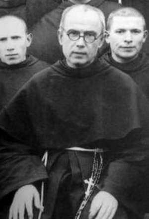 On the 75th anniversary of the Auschwitz Liberation I'd like to honor St. Maximilian Kolbe. A Franciscan Friar imprisoned in Auschwitz for publishing Anti-Nazi literature and sheltering thousands of Jewish refugees. He died after volunteering to take the place of another condemned prisoner.: On the 75th anniversary of the Auschwitz Liberation I'd like to honor St. Maximilian Kolbe. A Franciscan Friar imprisoned in Auschwitz for publishing Anti-Nazi literature and sheltering thousands of Jewish refugees. He died after volunteering to take the place of another condemned prisoner.