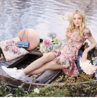 On the go this season? Look no further than our refined MIAMI lace-up sneakers. Style Diary Star Dakota Fanning wears hers with a flirty floral summer dress, but they work equally well with jeans for those off-duty days.: On the go this season? Look no further than our refined MIAMI lace-up sneakers. Style Diary Star Dakota Fanning wears hers with a flirty floral summer dress, but they work equally well with jeans for those off-duty days.