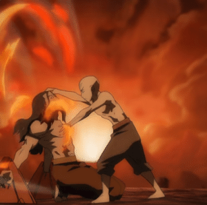 Aang, Phoenix, and Peace: On this day 11 years ago Aang defeated Phoenix King Ozai and brought peace to the four nations.