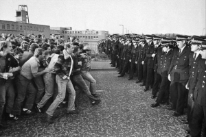 On this day, 3 March 1985, after a year on strike and some of the most bitter and open class warfare in British history, the National Union of Mineworkers voted to end their stoppage. A turning point in the fortunes of the working class in Britain, this iconic strike, with its pitched battles and militarisation of mining communities, came to define the decade. Episode 13 of our podcast is about the crucial role played by women in the strike: https://workingclasshistory.com/2018/10/30/e13-women-in-the-miners-strike/ And coming soon we have an episode about how the LGBT community support of the strike, so subscribe today to make sure you don't miss it: On this day, 3 March 1985, after a year on strike and some of the most bitter and open class warfare in British history, the National Union of Mineworkers voted to end their stoppage. A turning point in the fortunes of the working class in Britain, this iconic strike, with its pitched battles and militarisation of mining communities, came to define the decade. Episode 13 of our podcast is about the crucial role played by women in the strike: https://workingclasshistory.com/2018/10/30/e13-women-in-the-miners-strike/ And coming soon we have an episode about how the LGBT community support of the strike, so subscribe today to make sure you don't miss it