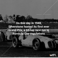 Via @wtf1official - Commonly cited as the first British Grand Prix f1 formula1 britishgp wtf1: On this day in 1948,  Silverstone hosted its first ever  /Grand Prix, a 65-lap race run to  Formula One regulations  wtf1. Via @wtf1official - Commonly cited as the first British Grand Prix f1 formula1 britishgp wtf1