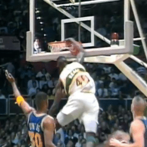 On this day in 1992, Shawn Kemp demolished Alton Lister. THE DISRESPECT.: On this day in 1992, Shawn Kemp demolished Alton Lister. THE DISRESPECT.