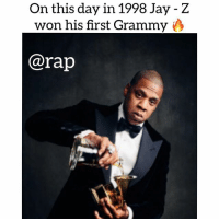 Friends, Jay, and Jay Z: On this day in 1998 Jay -Z  won his first Grammy  @rap Jigga ! ➡️ TAG 5 FRIENDS ➡️ TURN ON POST NOTIFICATIONS
