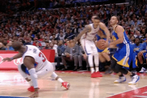 On this day in 2015, Steph buckled CP3 with one of the meanest crossovers of his career.: On this day in 2015, Steph buckled CP3 with one of the meanest crossovers of his career.