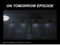 ON TOMORROW EPISODE  DEPARTURES  TRIMAT  TEEN WOLF l G OFFICIAL Tag a friend that watch Teen Wolf 💞