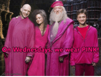 Memes, 🤖, and Waring: On Wednesdays, we wear PINK! on wensdays, we ware pink