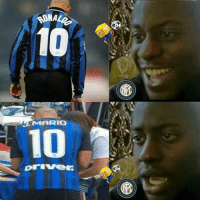 Football, Memes, and Mario: ONAL  10  MARIO  priVe Non so Rick mi sembra falso inter 10 ronaldo ilfenomeno joaomario inter nerazzurri internazionale milano seriea football