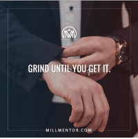 "Memes, Word, and Back: ONARNTOR  GRIND UNTILYOU GET IT  MILLMENTOR.COM Grind, get it and KEEP grinding. 🚨comment the word👇 ""grind"" letter by letter for a chance of a follow back and a like bomb! 💯 grind hustle getit millionairementor"