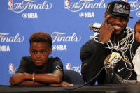 11-year-old LeBron James Jr. reportedly already has scholarship offers from Duke & Kentucky: ONBA  anals  NBA  ONBA  inals)  ONBA 11-year-old LeBron James Jr. reportedly already has scholarship offers from Duke & Kentucky