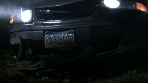 Once Upon A Time - In season 2, a stranger comes into Storybrooke & crashes. Next episode, Emma mentions the vehicle having a Pennsylvania license plate & we see the front of the car. However, Pennsylvania doesn't have front license plates.: Once Upon A Time - In season 2, a stranger comes into Storybrooke & crashes. Next episode, Emma mentions the vehicle having a Pennsylvania license plate & we see the front of the car. However, Pennsylvania doesn't have front license plates.