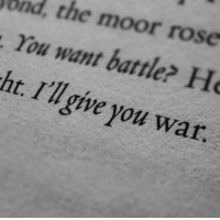 Rose, War, and You: ond, the moor rose  . You want battle Ho  ht. I'lgive you war