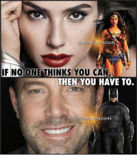 "WonderGal & Batfleck: PROVING THE HATERS WRONG! Both @gal_gadot & @benaffleck received a tremendous amount of negativity when they were cast in their respective roles. But they have each done a phenomenal job and they truly embody their characters. * Lol. I remember that immediately after Ben's casting in August 2013, the internet erupted in a collective ""nnnnoooooooooooooooo"". Gal's casting soon followed in December 2013 and she was met with a similar amount of hateful backlash. * There is no need to compare them to their predecessors. Wonder Woman and Batman are multi-faceted characters and each actor brings their own unique distinctiveness to the role. All that can be said now is THANK YOU ZACK SNYDER...amazing casting! *** mywonderwoman girlpower women femaleempowerment MulherMaravilha MujerMaravilla galgadot unitetheleague princessdiana dianaprince amazons amazonwarrior manofsteel thedarkknight makeithappen benaffleck brucewayne wondergal batfleck Thanks to @galgadotbrazil for the image of Gal: ONDERVAUGHN  IF NO ONE THINKS YOU CAN  THEN YOU HAVE TO.  @WONDERVAUGHN WonderGal & Batfleck: PROVING THE HATERS WRONG! Both @gal_gadot & @benaffleck received a tremendous amount of negativity when they were cast in their respective roles. But they have each done a phenomenal job and they truly embody their characters. * Lol. I remember that immediately after Ben's casting in August 2013, the internet erupted in a collective ""nnnnoooooooooooooooo"". Gal's casting soon followed in December 2013 and she was met with a similar amount of hateful backlash. * There is no need to compare them to their predecessors. Wonder Woman and Batman are multi-faceted characters and each actor brings their own unique distinctiveness to the role. All that can be said now is THANK YOU ZACK SNYDER...amazing casting! *** mywonderwoman girlpower women femaleempowerment MulherMaravilha MujerMaravilla galgadot unitetheleague princessdiana dianaprince amazons amazonwarrior manofsteel thedarkknight makeithappen benaffleck brucewayne wondergal batfleck Thanks to @galgadotbrazil for the image of Gal"