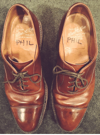 Phil Hartman's shoes. Impossible to fill.: ONDON  ENGLAND  ADE IN ENGLAND  LONDO Phil Hartman's shoes. Impossible to fill.