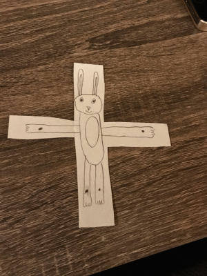 Easter, One, and All: One childs interpretation of what Easter is all about
