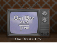 Memes, 🤖, and Episodes: ONE DAY  ATTA  IME  One Day at a Time It was 41 years ago today when One Day at a Time premiered in 1975. Watch it weekdays at 2p ET on Antenna TV.  What is your favorite episode of One Day At A Time?