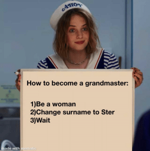One day I'll be a GrandmaSter too by Misharena MORE MEMES: One day I'll be a GrandmaSter too by Misharena MORE MEMES