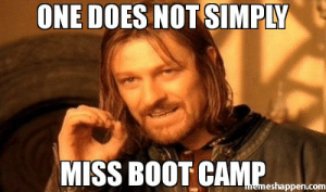 Meme, Com, and One: ONE DOES NOT SIMPLY  MISS BOOT CAMP  inemeshappen.com one does not simply miss boot camp meme - One Does Not Simply A ...