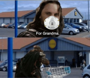 One does not simply walk into a store without a mask on: One does not simply walk into a store without a mask on