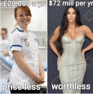 One is a hero, the other is a very expensive ego by Kelly240361 MORE MEMES: One is a hero, the other is a very expensive ego by Kelly240361 MORE MEMES