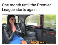 👐👐👐: One month until the Premier  League starts again.  I feel crazy and horny.  com/pornhub 👐👐👐