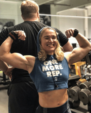 girlswithbiceps:  Girl Biceps Rock!: ONE  MORE  REP. girlswithbiceps:  Girl Biceps Rock!