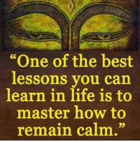 "Memes, 🤖, and Frequency: ""One of the best  lessons you can  learn in life is to  master how to  remain calm."" When someone treats you with disregard, here is how to respond: I agree that you said that, I'd like to add that your mind is vibrating on a negative frequency, and you are attracting that back to you. Could I impose the idea and suggested that you look for the good in people; not the bad. I wish you nothing but happiness and abundance; calmness is power. Be the better person, always 🙏 liveinspired markiron"