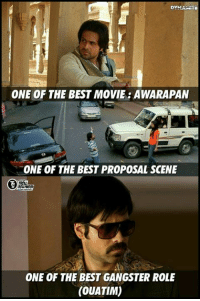 Memes, 🤖, and Emmys: ONE OF THE BEST MOVIE AWARAPAN  ONE OF THE BEST PROPOSAL SCENE  ONE OF THE BEST GANGSTER ROLE  (OUATIM) Has one of the best songs in his movies, one of the best kisser :P  Happy Birthday Emmi <3  #Dynamite