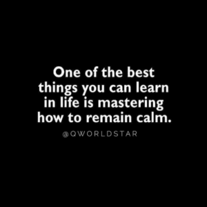 """""""Calmness is a super power...always be centered..."""" 🙏 @QWorldstar #PositiveVibes https://t.co/TzkExYS4ue: One of the best  things you can learn  in life is mastering  how to remain calm.  QWORLDSTAR """"Calmness is a super power...always be centered..."""" 🙏 @QWorldstar #PositiveVibes https://t.co/TzkExYS4ue"""
