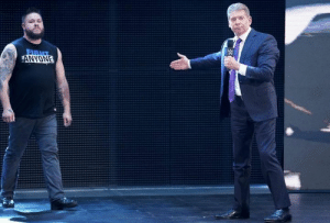 One of the controversial news from smackdown is this moment. The moment where vince mcmahon replaced kofi kingston with kevin owens to face bryan at fastlane... Alright2, this is unpredictable to me!  #RE: One of the controversial news from smackdown is this moment. The moment where vince mcmahon replaced kofi kingston with kevin owens to face bryan at fastlane... Alright2, this is unpredictable to me!  #RE