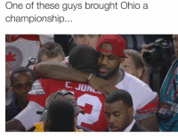 The other is LeBron James...  NFL Memes: One of these guys brought Ohio a  championship  C. JUN The other is LeBron James...  NFL Memes