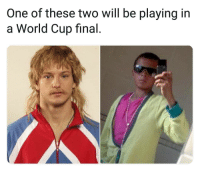 Lol, Memes, and World Cup: One of these two will be playing in  a World Cup final Lol😂👋