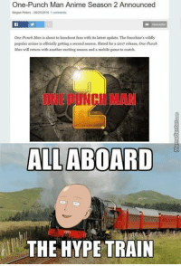 25+ Best One Punch Man Season 2 Memes | Aired Memes, No
