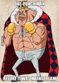 One-Punch Man: ONE-PUNCH MAN  BEFORE ITWAS MAINSTREAM  COM