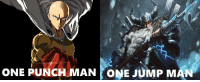 Anime, Meme, and One-Punch Man: ONE PUNCH MAN ONE JUMP MAN