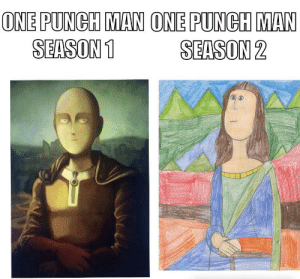 Anime, One-Punch Man, and Opm: ONE PUNCH MAN ONE PUNGH MAN  SEASON1 SEASON 2 OPM S1 VS OPM S2