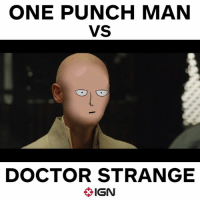 -Wolverine: ONE PUNCH MAN  VS  DOCTOR STRANGE  IGN -Wolverine