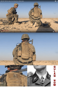 They aren't even trying to hide it anymore: ONE SHOT ONE KILL Marine Scout Sniper kills a Taliban sniper  A They aren't even trying to hide it anymore
