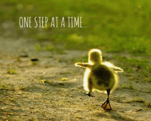 Memes, Time, and Sunday: ONE STEP AT A TIME Easter's Coming !  Sunday, April 21,  2019  USA