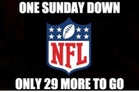 ONE SUNDAY DOWN  ONLY 29 MORE TO GO We can do it!